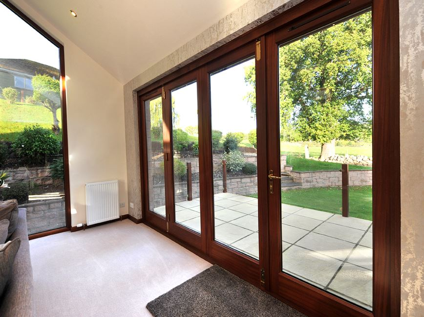 Bi Fold Timber doors